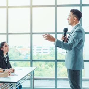 Corsi di formazione finanziata Simposio Academy - Public Speaking